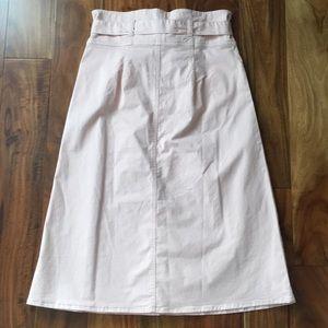 GAP Skirts - NWT! GAP paper bag midi skirt